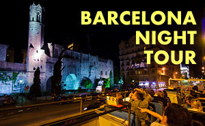 Barcelona Night Lights Tour
