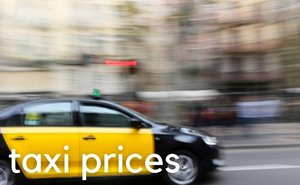 Barcelona taxi prices 2015