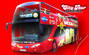 Tickets Barcelona City Tour. Hop on Hop off bus