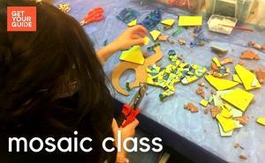 Trencadís and Mosaic Workshop Barcelona