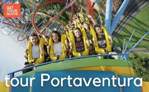 Bus + Tickets PortAventura World and Ferrari land theme park