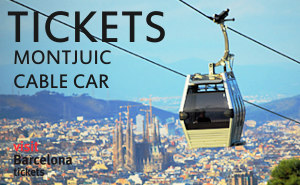 Tickets Montjuic hill cable car