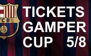 Tickets Joan Gamper Cup 2016 FC Barcelona v Sampdoria 10th August 2016
