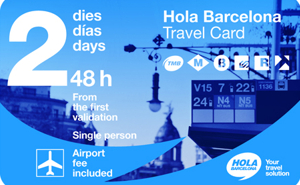 Barcelona Transport Pass - travel card