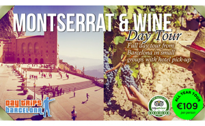 Barcelona Day Tour to Montserrat and Torres Vineyard
