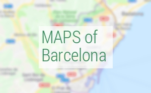 Maps of Barcelona