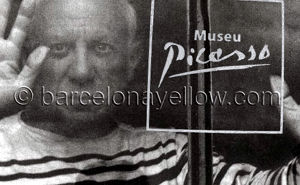 Where did Picasso live in Barcelona?