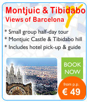 Views of Barcelona tour Montjuic Tibidabo