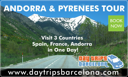 Tour to 3 countries, Spain, France and Andorra