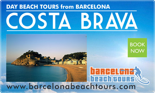 Day Tours to Costa Brava beaches