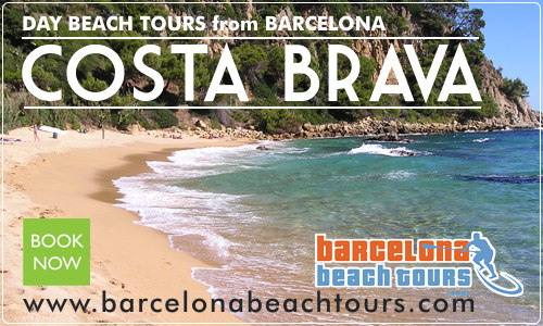Book day tours to beaches outside Barcelona