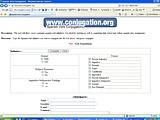 Conjugation.org - online verb conjugation
