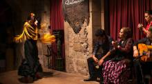 Palau Dalmases flamenco show