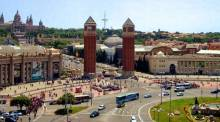 Fira Montjuic - trade fair exhibition area