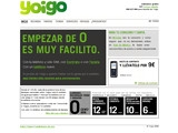 Yoigo - Independant mobile phone operator Spain