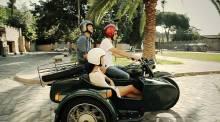 Motorbike sidecar tours