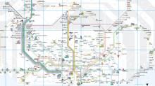 PDF map FGC train network Barcelona