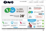 Ono - Internet broadband via cable