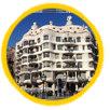 Barcelona Gaudi buildings