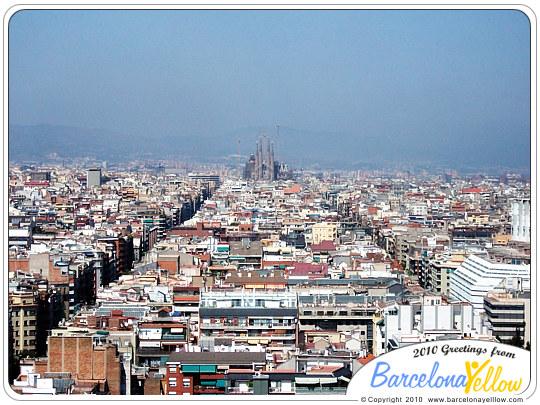 La Sagrada Familia sky line