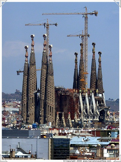 Sagrada Familia - unfiinished church
