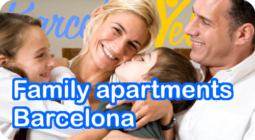 family apartments barcelona