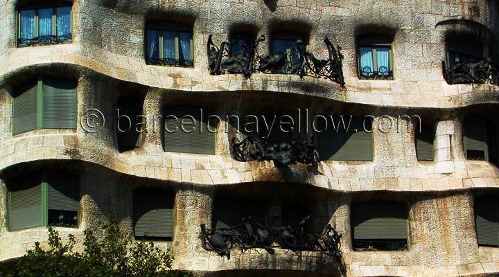 La Pedrera building by Antoni Gaudi