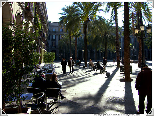 barcelona pictures plaza reial