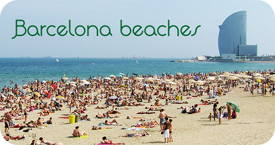 Barcelona beaches - beaches in Barcelona