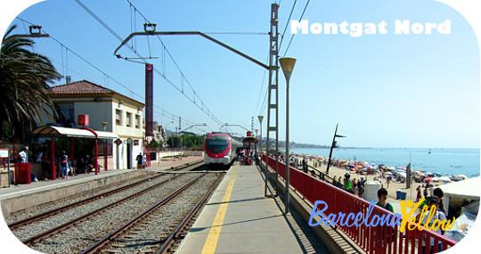 Montgat Nord station