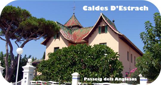 Modernist villas Caldes D'Estrac