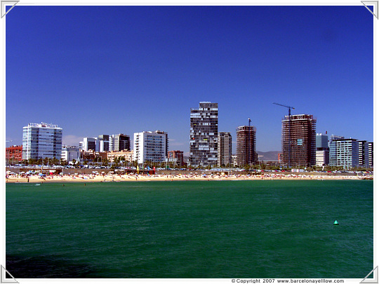 The new beach in Barcelona is called Llevant
