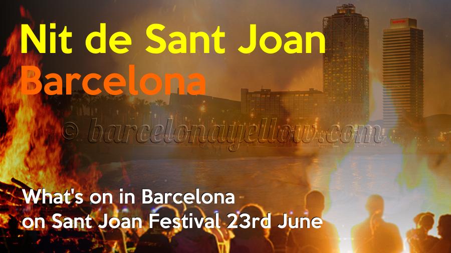 Barcelona Nit de Sant Joan