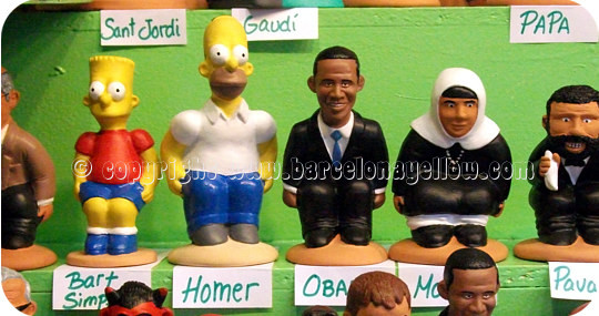 Caganer Obama Barcelona