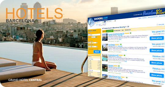 Popular hotels Barcelona