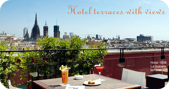 best hotel terraces barcelona