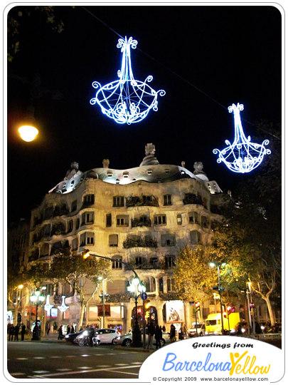 Casa Mila Christmas