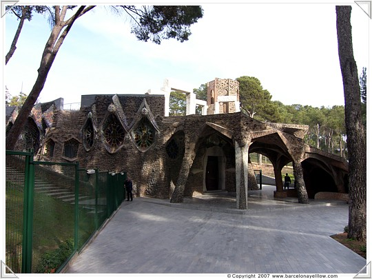 Gaudi's crypt of the Church of Colonia Güell