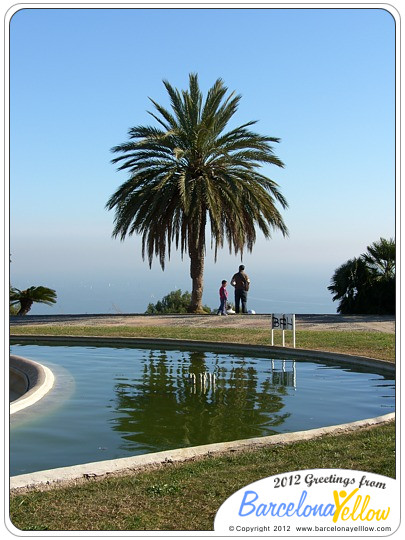 Montjuic gardens and parks