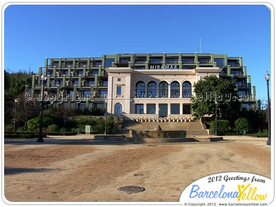 Miramar hotel Barcelona