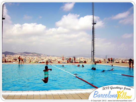 Montjuic Diving Pools Barcelona