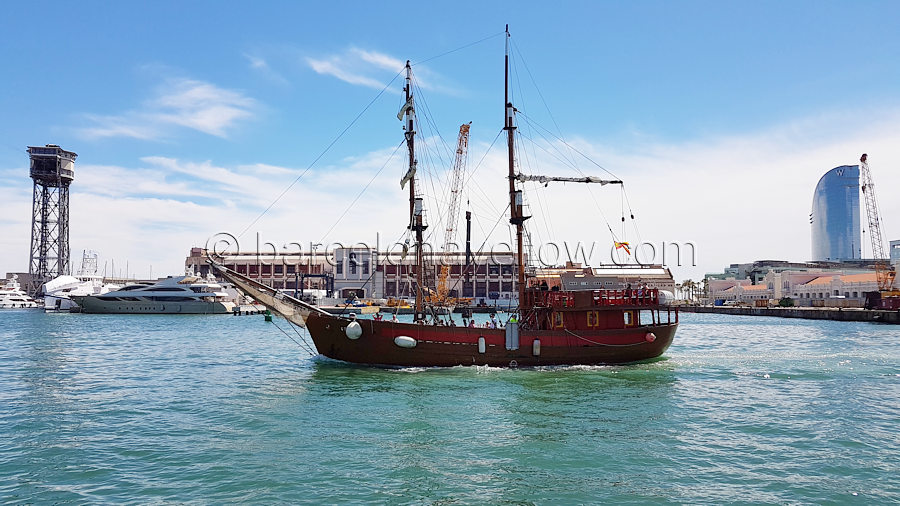 port_vell_galleon_saling_tour