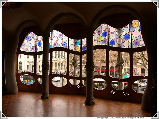Main room in Casa Batllo Barcelona