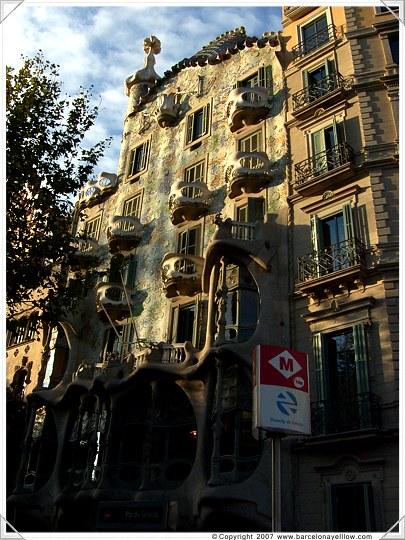 Casa Batllo by Antoni Gaudi Barcelona