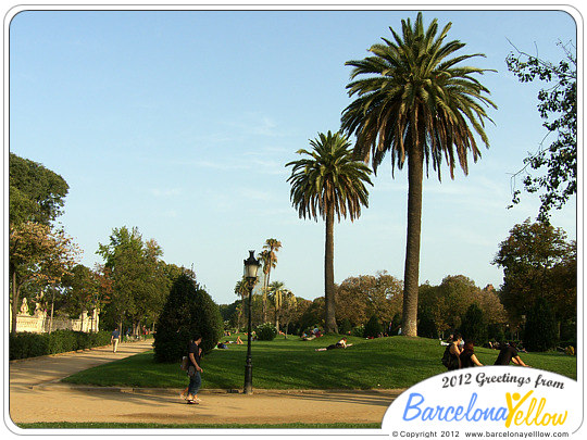 Click to see pictures of Ciutadella Park
