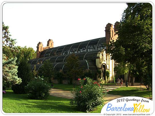 Parc de la Ciutadella Umbraculum Umbracle
