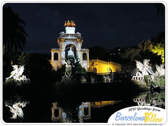 La Cascada of Parc Ciutadella