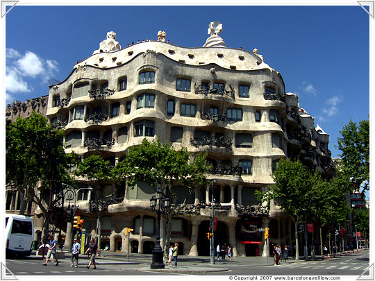 Barcelona Casa Mila - La Pedrera