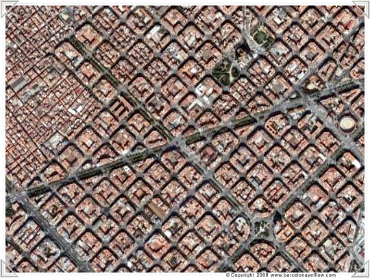 Barcelena Eixample grid