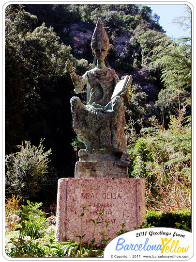 Abat Oliba - founder of Montserrat monastery